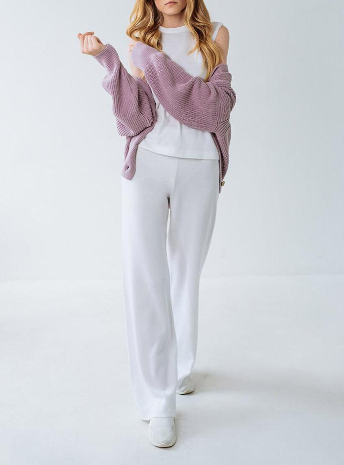 Брючный костюм из трикотажа FRBC_FBKT_SS20_01_suit, фото 1 - в интернет магазине KAPSULA