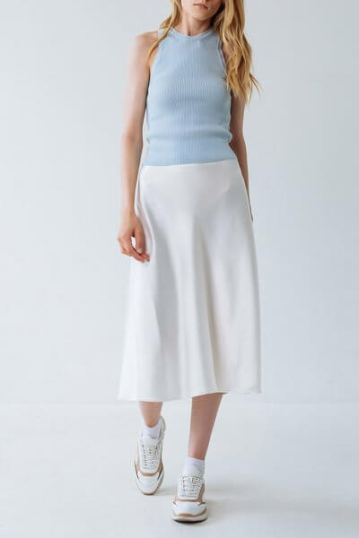Юбка миди А-силуэта FRBC_FBTB_SS20_ 01-skirt, фото 1 - в интеренет магазине KAPSULA