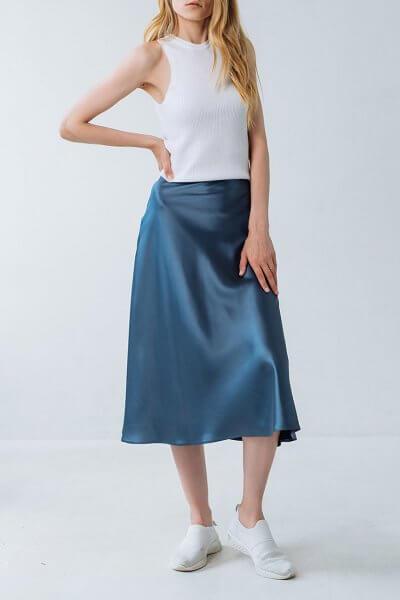 Юбка миди А-силуэта FRBC_FBTB_SS20_ 02-skirt, фото 1 - в интеренет магазине KAPSULA