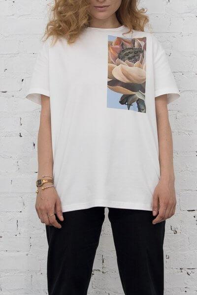 Хлопковая футболка Lotus LSRK_1-489-U-MK-ONE, фото 1 - в интеренет магазине KAPSULA