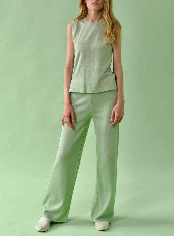 Брючный костюм из трикотажа FRBC_FBKT_SS20_02-suit, фото 1 - в интернет магазине KAPSULA