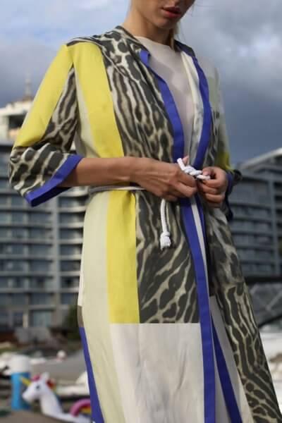 Лёгкое платье-рубашка TBC_07520с_0219, фото 1 - в интеренет магазине KAPSULA