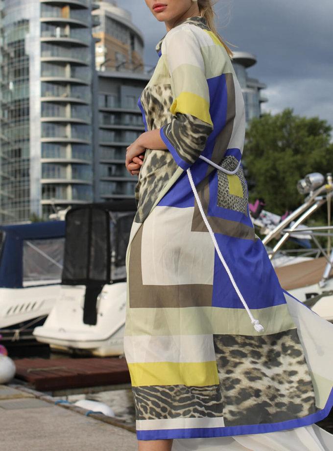 Лёгкое платье-рубашка TBC_07520с_0219, фото 1 - в интернет магазине KAPSULA
