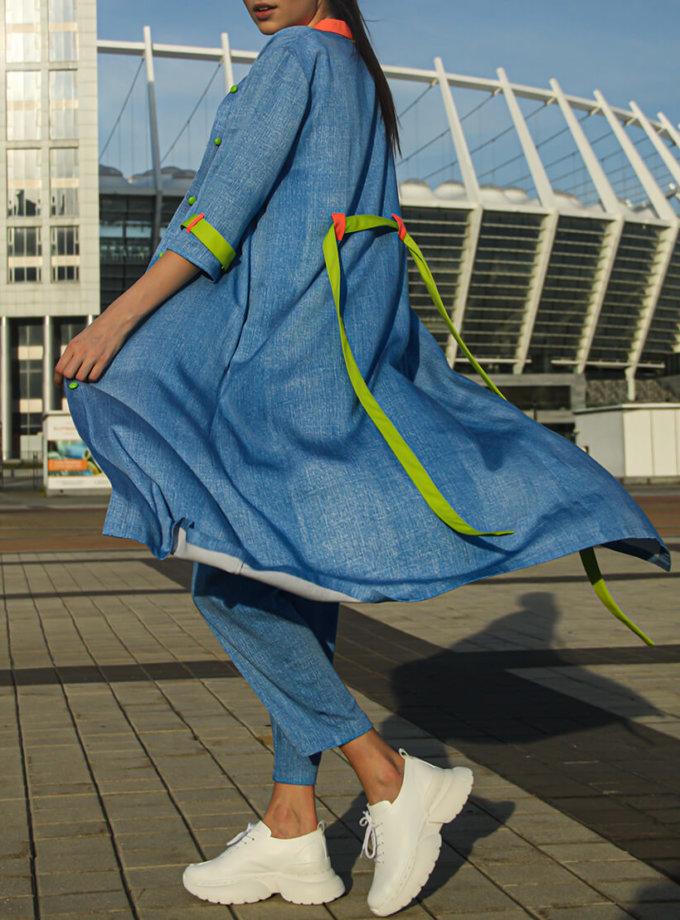Костюм из платья и брюк TBC_07420v_004k, фото 1 - в интернет магазине KAPSULA