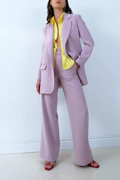 Широкие брюки на высокой посадке IRRO_IR_SM20_PP_004, фото 1 - в интеренет магазине KAPSULA
