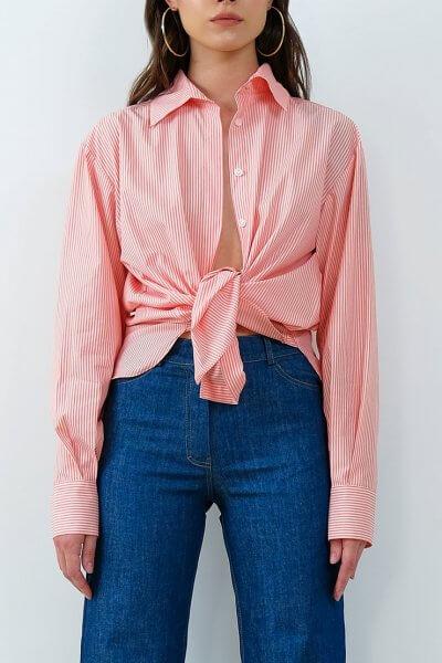 Хлопковая рубашка в полоску IRRO_IR_SM20_SP_012, фото 2 - в интеренет магазине KAPSULA