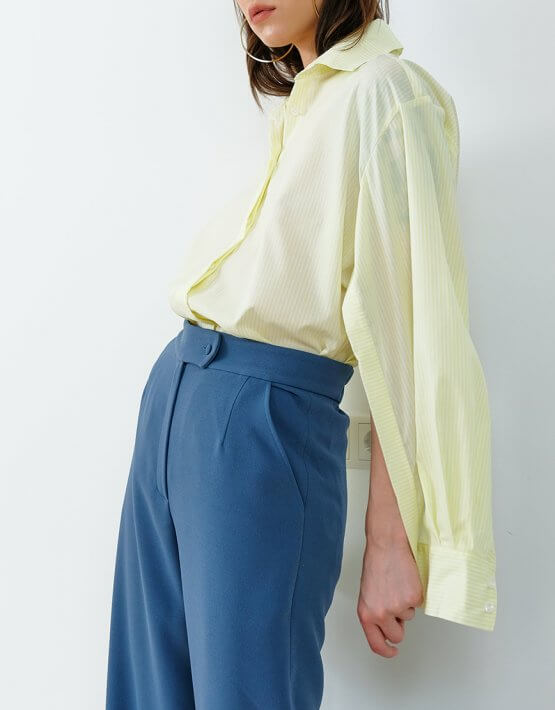 Хлопковая рубашка в полоску IRRO_IR_SM20_SS_010, фото 4 - в интеренет магазине KAPSULA