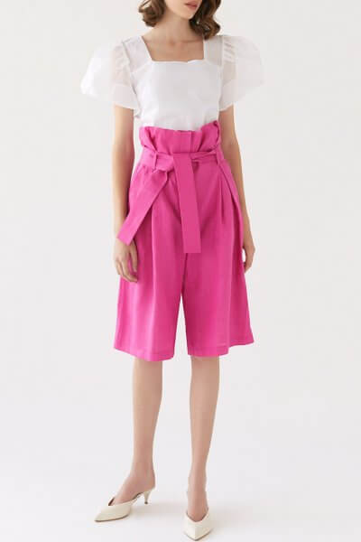 Льняные шорты Jackie MRCH_SS2020-13, фото 1 - в интеренет магазине KAPSULA