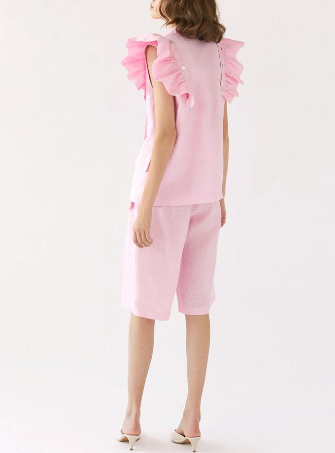 Льняные шорты Jackie MRCH_SS2020-14, фото 1 - в интеренет магазине KAPSULA