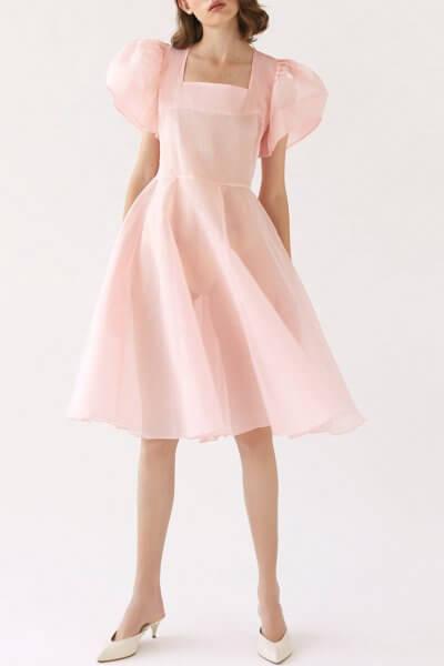 Платье Snow White из хлопка MRCH_SS2020-15, фото 1 - в интеренет магазине KAPSULA
