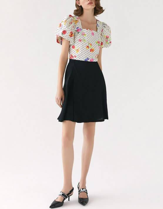 Шелковая юбка Miss MRCH_SS2020-6, фото 2 - в интеренет магазине KAPSULA