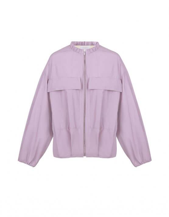 Легкая куртка на молнии SAYYA_30_SSL1025-1, фото 2 - в интеренет магазине KAPSULA