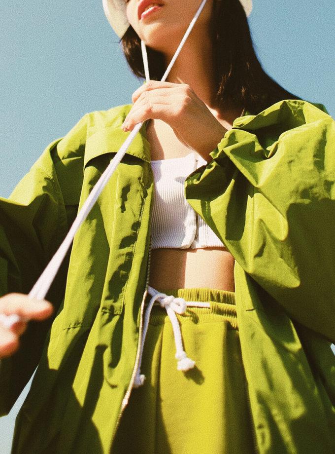 Легкая куртка на молнии SAYYA_30_SSL1025, фото 1 - в интеренет магазине KAPSULA