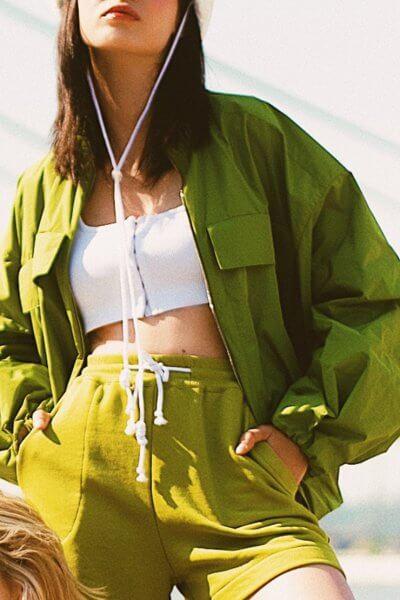 Легкая куртка на молнии SAYYA_30_SSL1025, фото 2 - в интеренет магазине KAPSULA