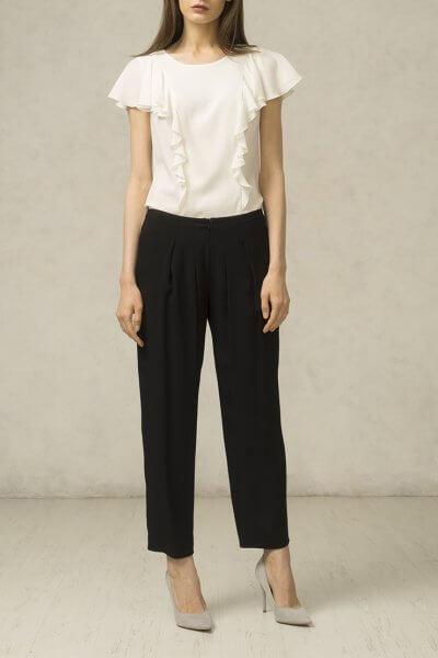 Свободные укороченные брюки SHKO_15079001_outlet, фото 3 - в интеренет магазине KAPSULA
