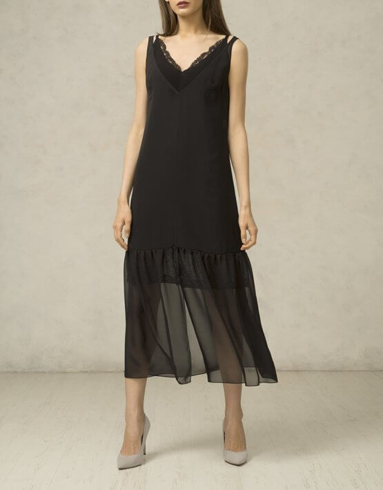 Прозрачная накидка на платье SHKO_16027001_outlet, фото 2 - в интеренет магазине KAPSULA