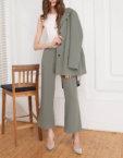 Платье принт с V вырезом SHKO_16017012_outlet, фото 4 - в интеренет магазине KAPSULA