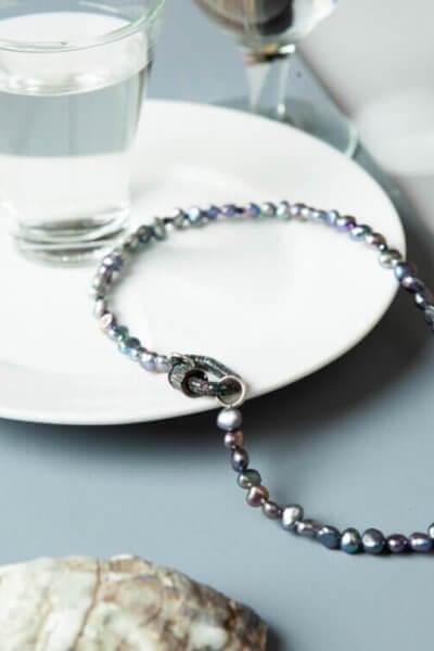 Колье из жемчуга BLUE VENICE SMKSH_BLUE VENICE, фото 1 - в интеренет магазине KAPSULA