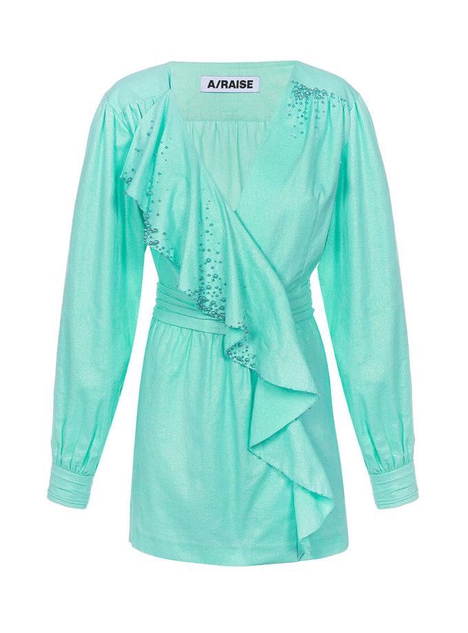 Хлопковое платье мини ARS_SS20_5, фото 1 - в интернет магазине KAPSULA