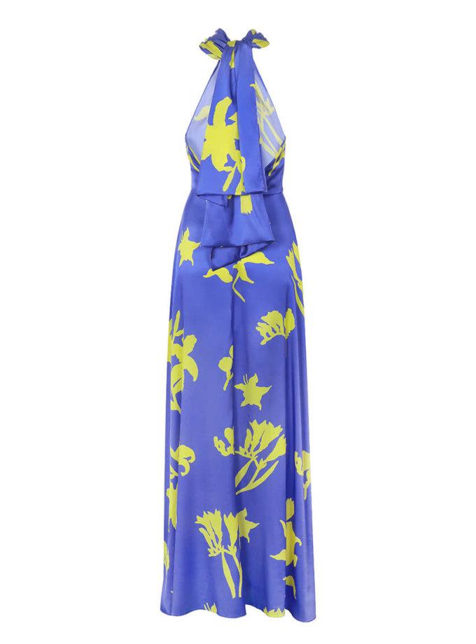 Шелковое платье с открытой спиной ARS_SS20_11, фото 1 - в интернет магазине KAPSULA