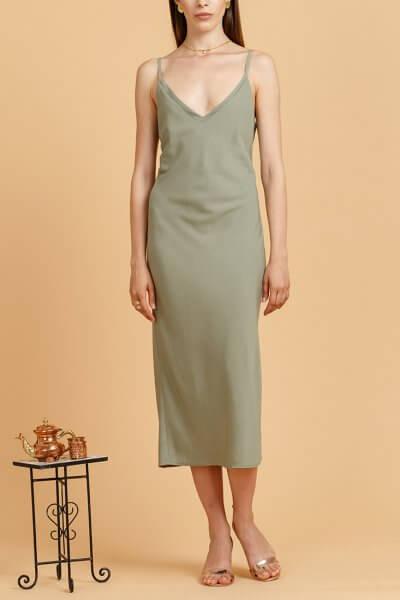 Платье на тонких бретелях INS_SS20_15_01, фото 1 - в интеренет магазине KAPSULA