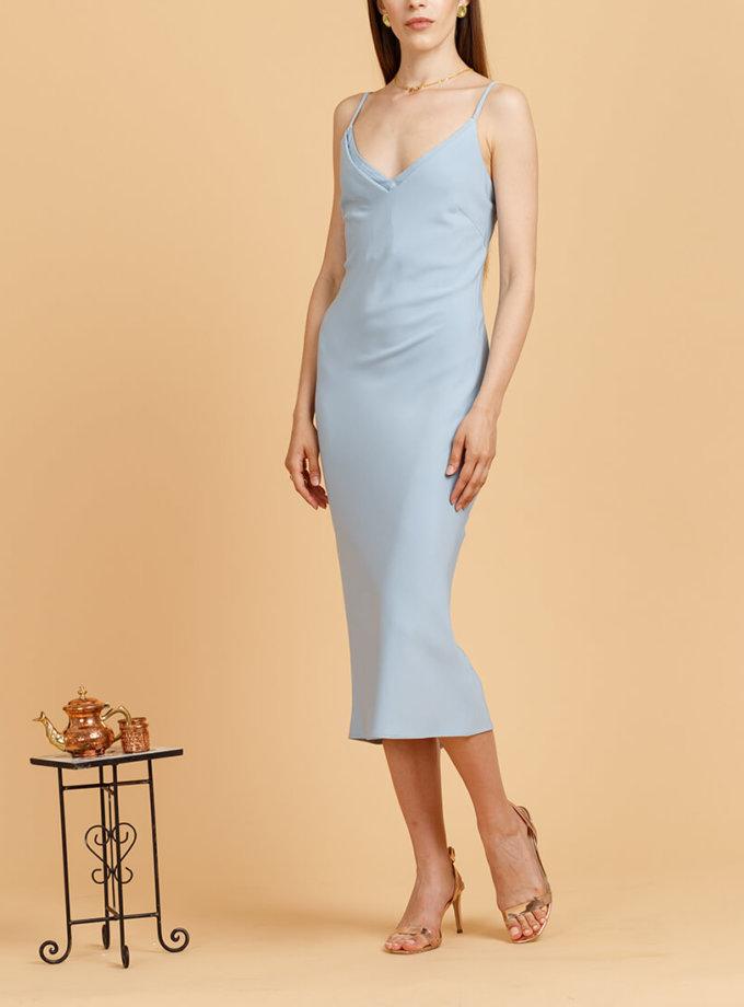 Платье на тонких бретелях INS_SS20_15_02, фото 1 - в интеренет магазине KAPSULA