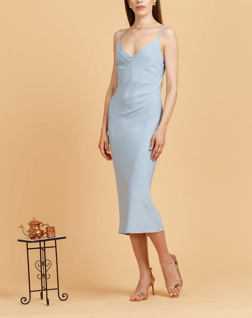 Платье на тонких бретелях INS_SS20_15_02, фото 1 - в интернет магазине KAPSULA