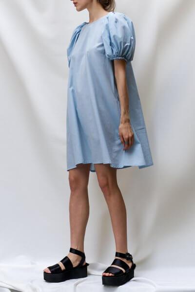 Платье с рукавами буфами TF_TAMAR_3, фото 1 - в интеренет магазине KAPSULA
