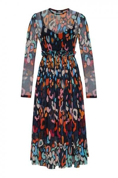 Полупрозрачное платье миди TF_Tam_48, фото 1 - в интеренет магазине KAPSULA