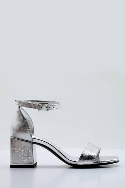 Кожаные босоножки Betty NZR_Betty-silver, фото 1 - в интеренет магазине KAPSULA
