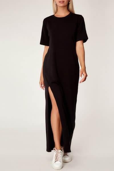 Хлопковое платье oversize CVR_BLACKTS2020, фото 1 - в интеренет магазине KAPSULA