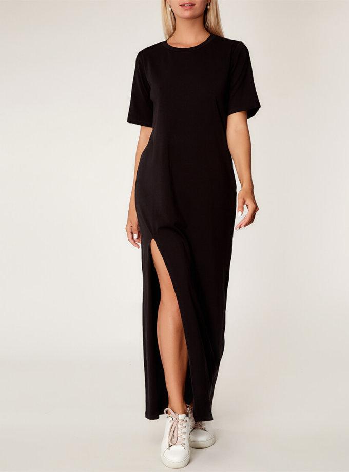 Хлопковое платье oversize CVR_BLACKTS2020, фото 1 - в интернет магазине KAPSULA