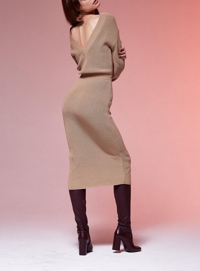 Двустороннее платье с вырезом JDW_JD3009, фото 1 - в интеренет магазине KAPSULA