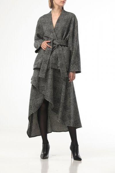 Ассиметричная юбка из шерсти ALOT_200220, фото 5 - в интеренет магазине KAPSULA