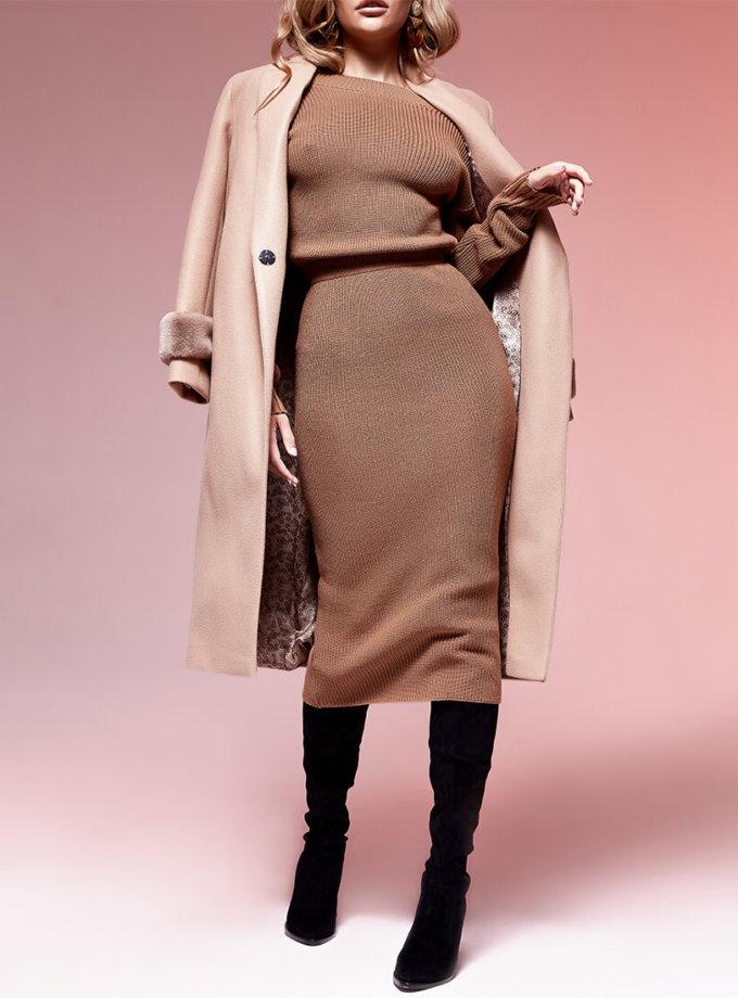 Двустороннее платье с вырезом JDW_JD0210, фото 1 - в интернет магазине KAPSULA