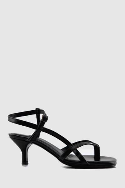 Кожаные босоножки Alexandra NZR_Alexandra-black, фото 1 - в интеренет магазине KAPSULA