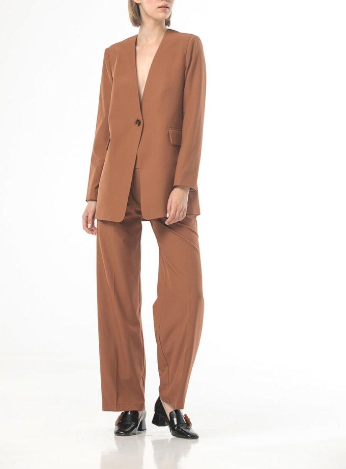 Прямые брюки со стрелками ALOT_030130, фото 1 - в интеренет магазине KAPSULA