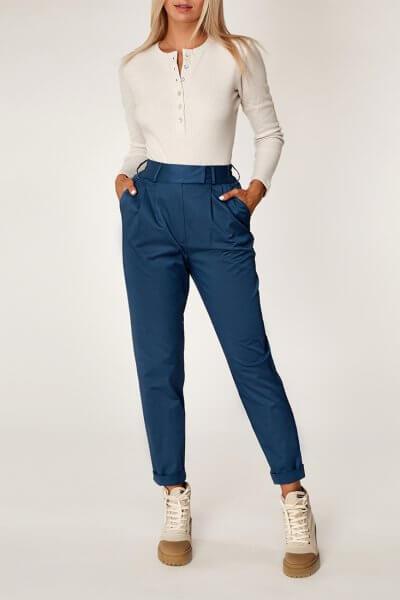 Хлопоковые брюки на резинке CVR_BIRPAN2020, фото 2 - в интеренет магазине KAPSULA