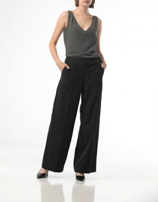 Прямые брюки со стрелками ALOT_030131, фото 5 - в интеренет магазине KAPSULA
