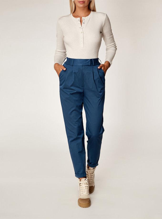 Хлопоковые брюки на резинке CVR_BIRPAN2020, фото 1 - в интеренет магазине KAPSULA