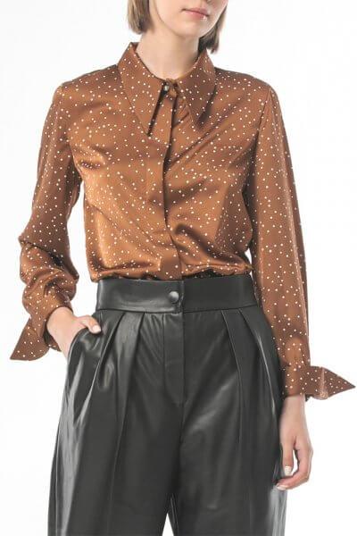 Блуза с объемными манжетами ALOT_020224, фото 5 - в интеренет магазине KAPSULA