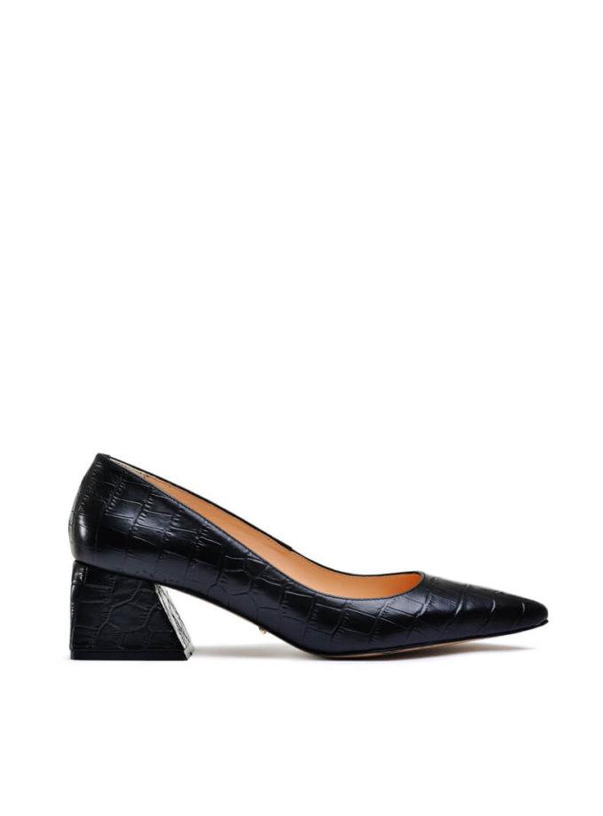 Кожаные туфли на небольшом каблуке MDVV_800001, фото 1 - в интеренет магазине KAPSULA