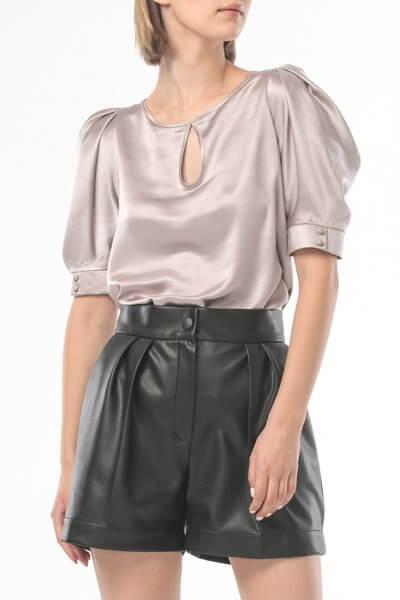 Блуза с объемными рукавами ALOT_020209, фото 3 - в интеренет магазине KAPSULA