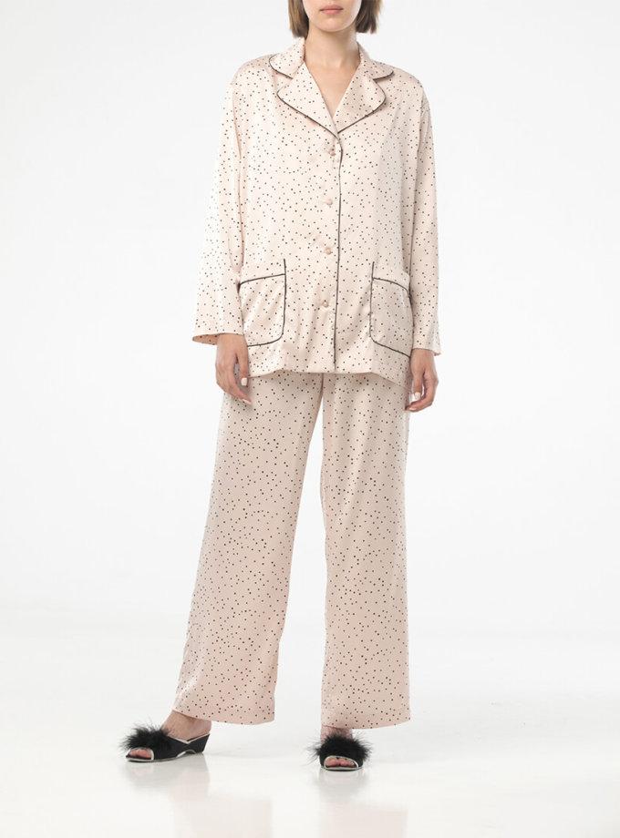 Легкая пижама в горох ALOT_020219, фото 1 - в интеренет магазине KAPSULA