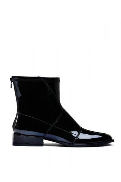 Лаковые ботинки на маленьком каблуке MDVV_888401, фото 4 - в интеренет магазине KAPSULA