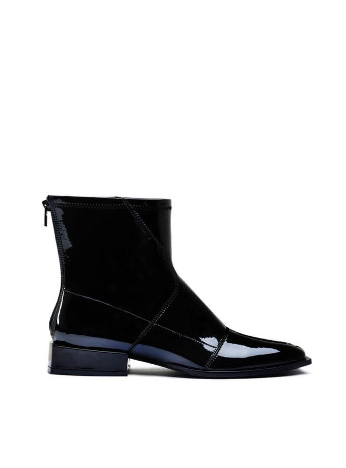 Лаковые ботинки на маленьком каблуке MDVV_888401, фото 1 - в интеренет магазине KAPSULA