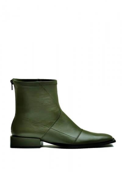 Кожаные ботинки на маленьком каблуке MDVV_888411, фото 5 - в интеренет магазине KAPSULA