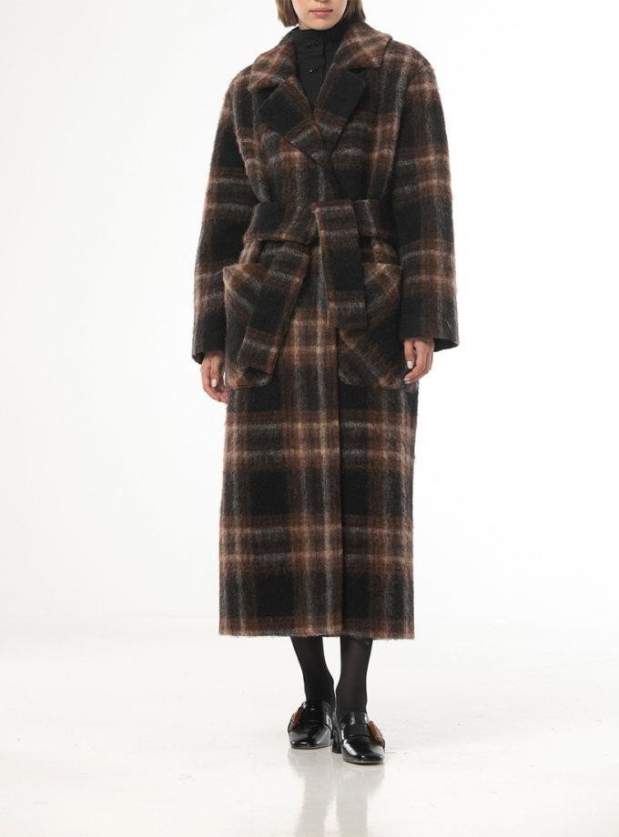 Шерстяное пальто в клетку ALOT_500210, фото 1 - в интеренет магазине KAPSULA