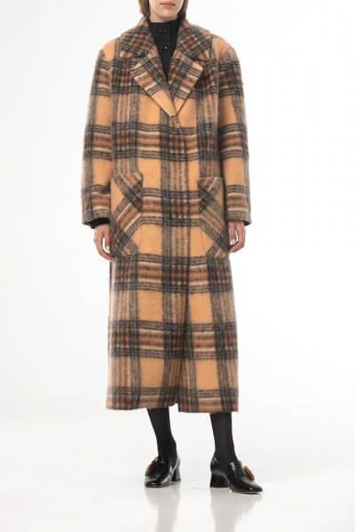 Шерстяное пальто в клетку ALOT_500209, фото 1 - в интеренет магазине KAPSULA