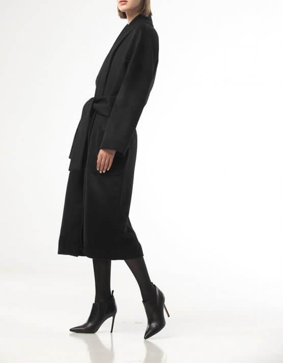 Пальто на запах свободного кроя ALOT_500213, фото 6 - в интеренет магазине KAPSULA
